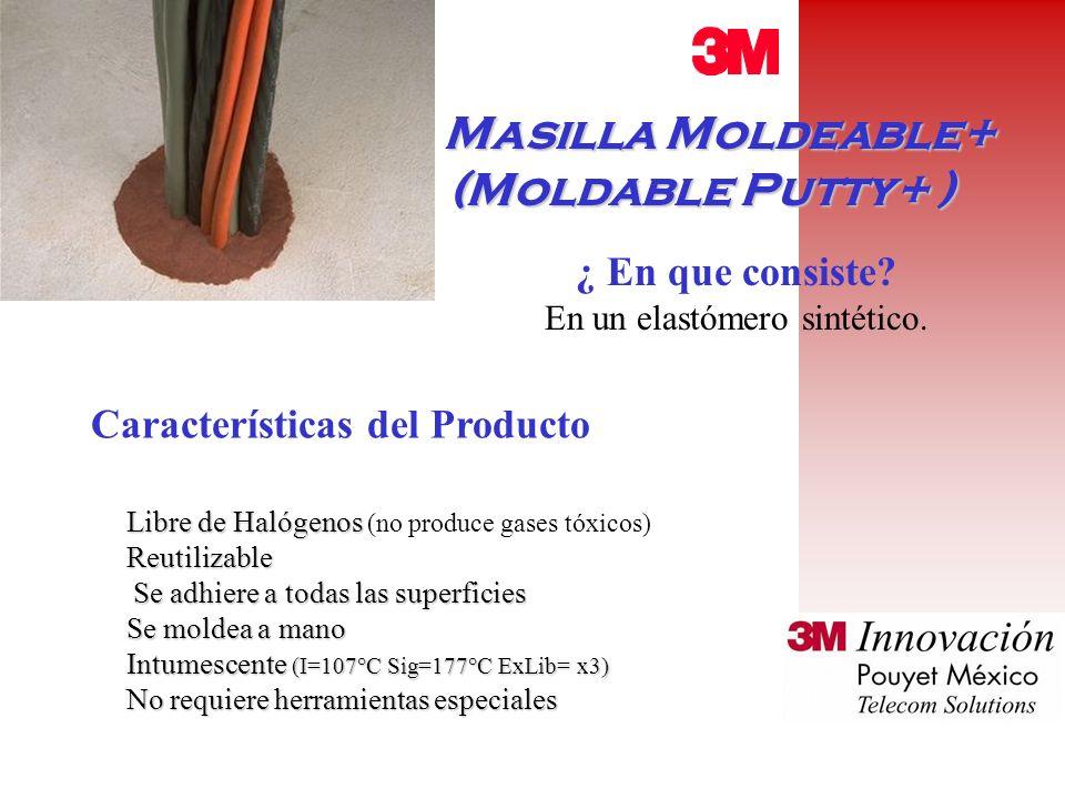 Masilla Moldeable+ Masilla Moldeable+ (Moldable Putty+ ) ¿ En que consiste.
