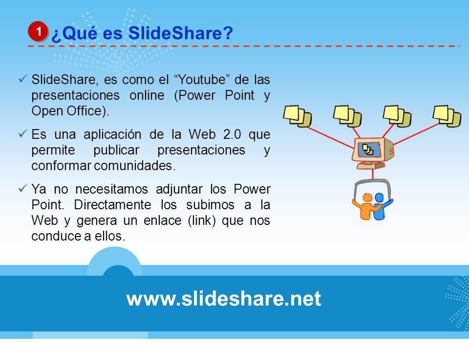 ¿Cómo crear una cuenta en SlideShare.