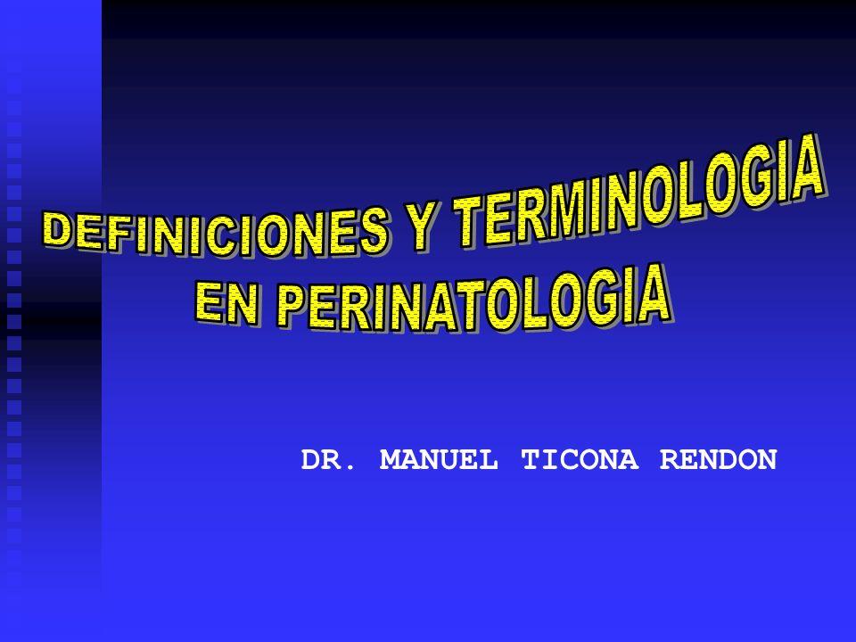 DR. MANUEL TICONA RENDON