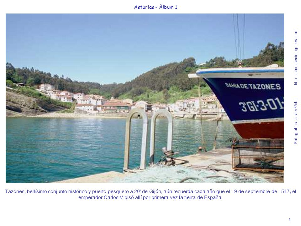 Fotografías: Javier Vidal http: asturiasenimagenes.com 9 Asturias - Älbum 1 La Iglesia prerrománica de Santa Cristina de Lena, s.