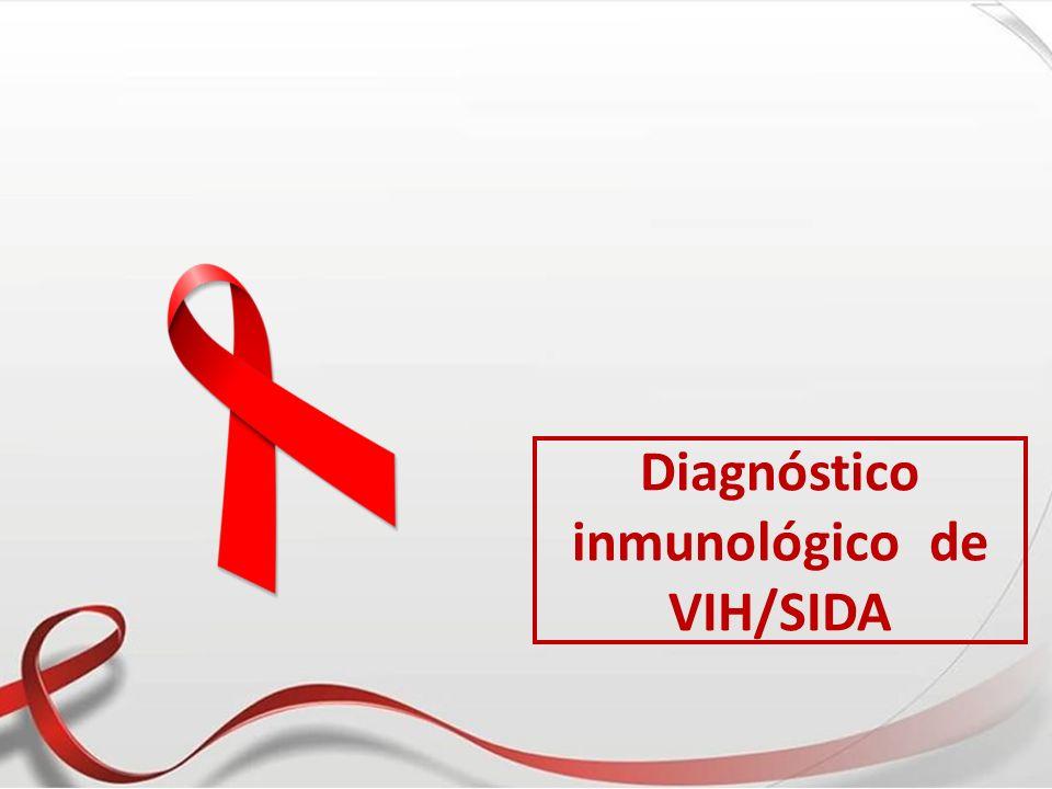 Diagnóstico inmunológico de VIH/SIDA