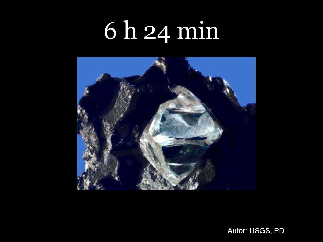 6 h 24 min Autor: USGS, PD