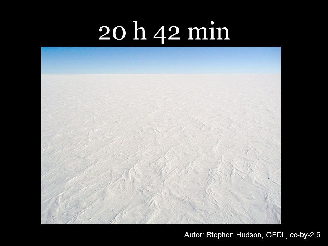 20 h 42 min Autor: Stephen Hudson, GFDL, cc-by-2.5