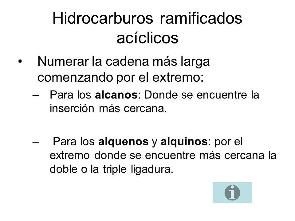 Hidrocarburos ramificados acíclicos (2).2.