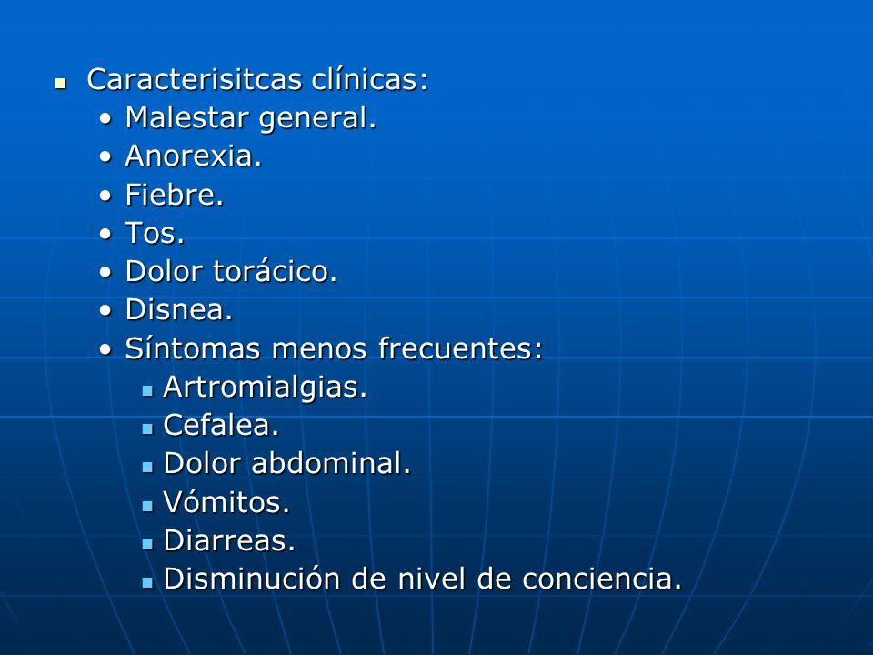 Clasificación entre neumonía típica y atípica.Clasificación entre neumonía típica y atípica.