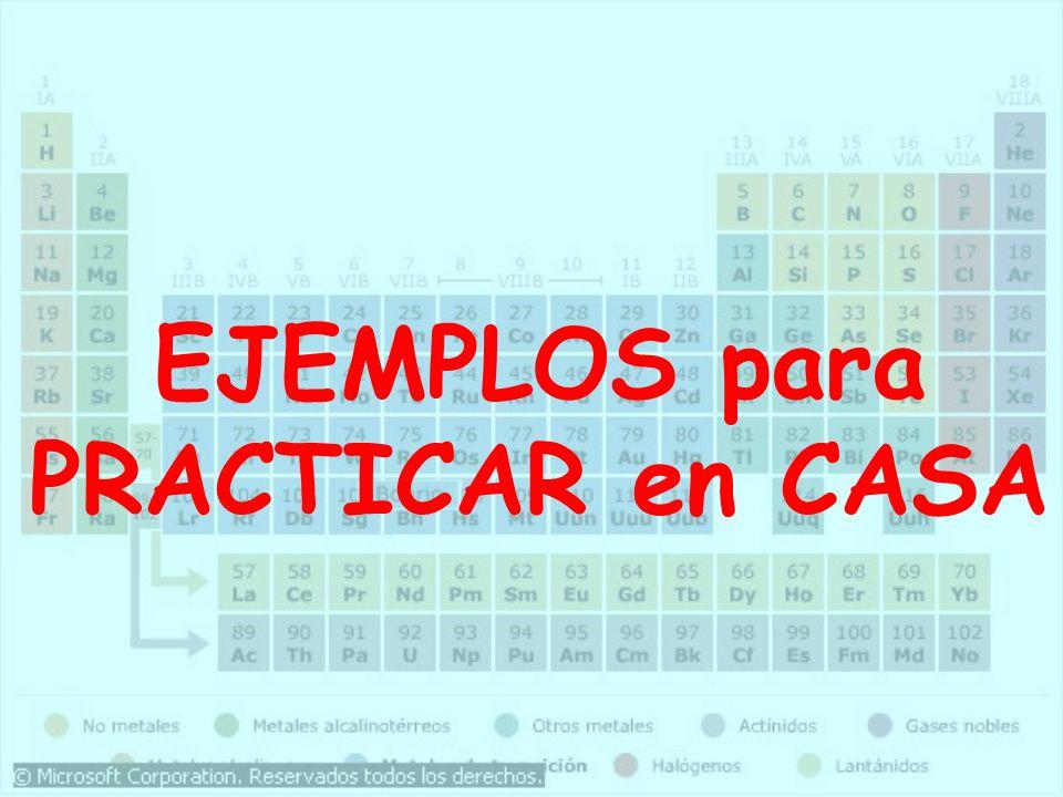 Nomenclatura FórmulaTradicionalStock Sistemática BaOÓxido Bárico Óxido de Bario Na 2 OÓxido SódicoÓxido de SodioÓxido de disodio Al 2 O 3 Óxido AlumínicoÓxido de Aluminio Trióxido de dialum CoOÓxido Cobaltoso Óxido de Cobalto (II)Óxido de Cobalto CuOÓxido CúpricoÓxido de Cobre (II) Óxido de Cobre Cu 2 OÓxido Cuproso Óxido de Cobre (I)Óxido de dicobre FeOÓxido Ferroso Óxido de Hierro (II) Óxido de Hierro Fe 2 O 3 Óxido Férrico Óxido de Hierro (III)Trióxido de dihierro MgOÓxido MagnésicoÓxido de Magnesio ZnOÓxido Cínquico Óxido de Cinc SnO 2 Óxido Estánnico Óxido de Estaño (IV)Dióxido de Estaño