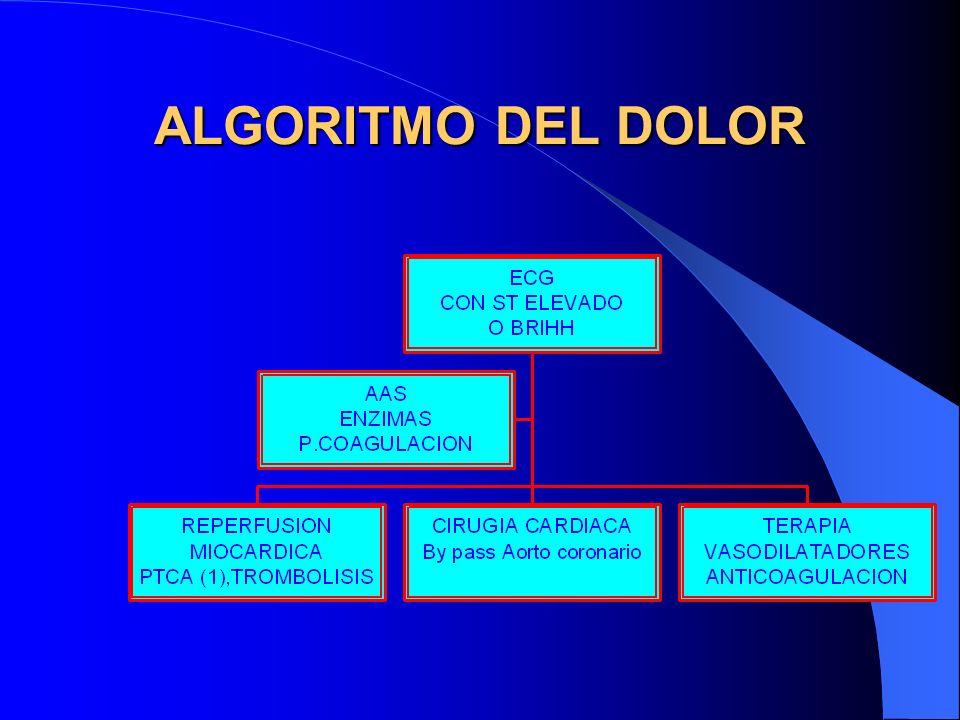 ALGORITMO DEL DOLOR