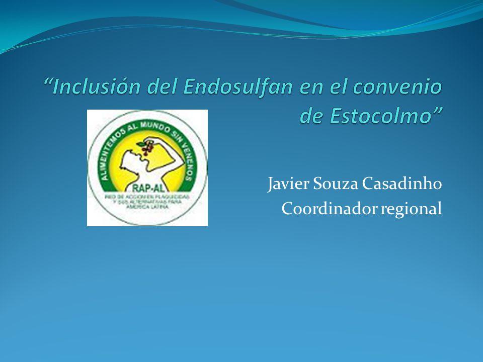 Endosulfan El endosulfan, hexacloro- endometileno- biciclohepteno-bis, posee una clasificación química de organoclorado actuando sobre insectos por contacto e ingestión.
