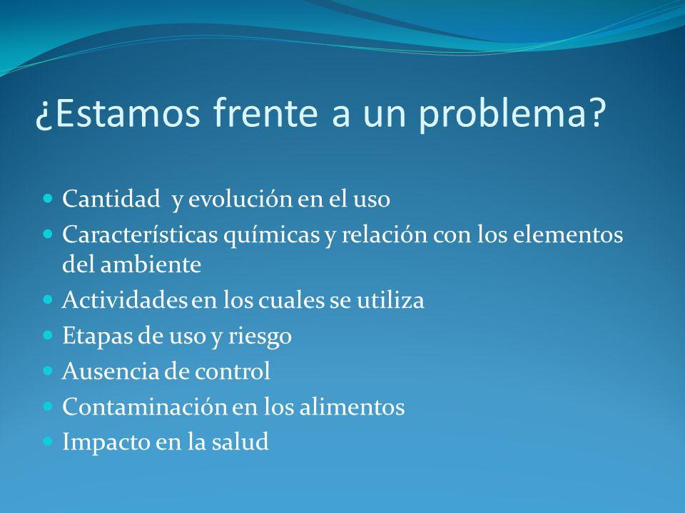 Comercialización del Insecticida Endosulfan en la Argentina.
