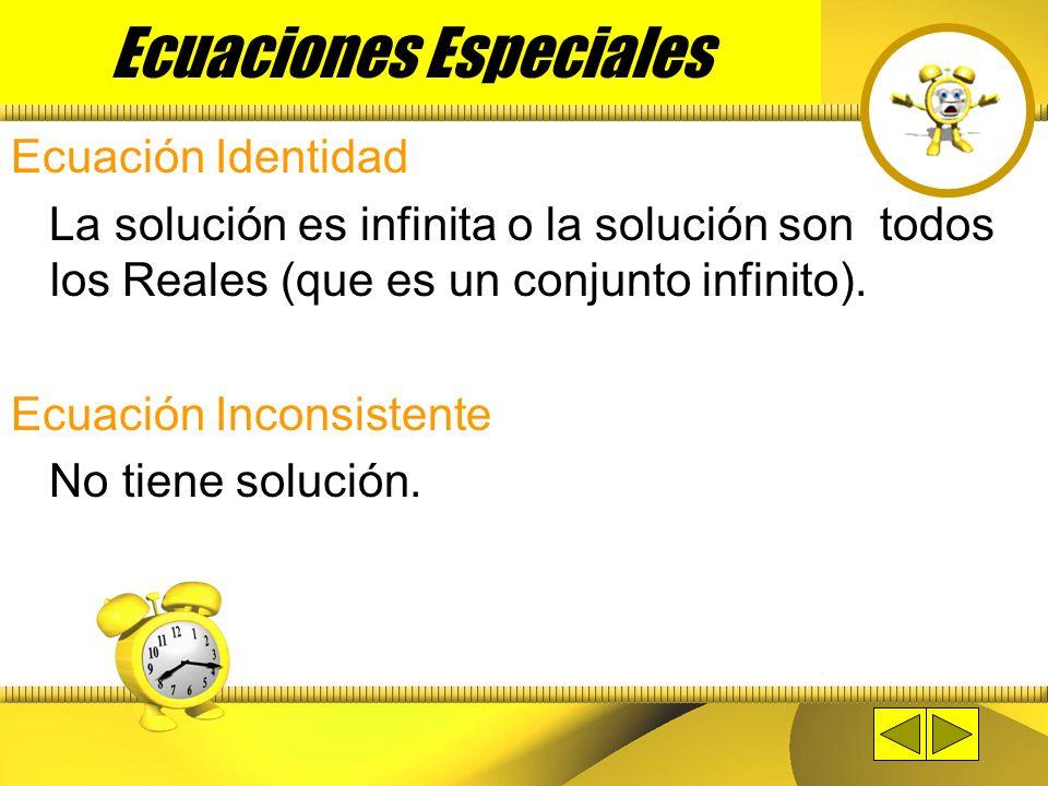 Ecuaciones Especiales