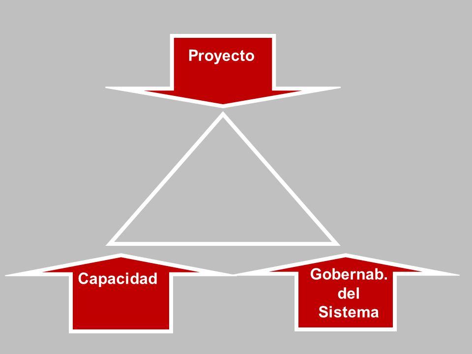 Proyecto Gobernab. del Sistema Capacidad