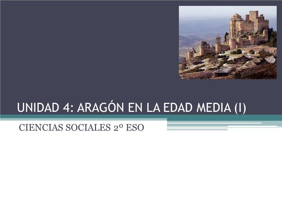 UNIDAD 4: ARAGÓN EN LA EDAD MEDIA (I) CIENCIAS SOCIALES 2º ESO