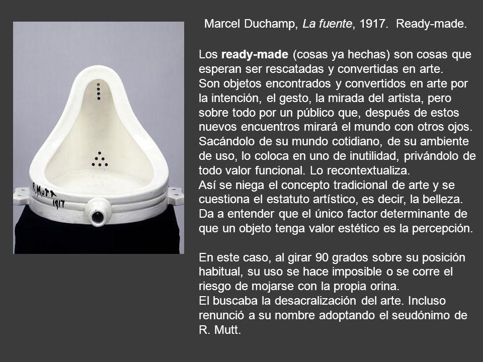 Duchamp, La Gioconda con bigote y perilla, 1919.Ready-made.