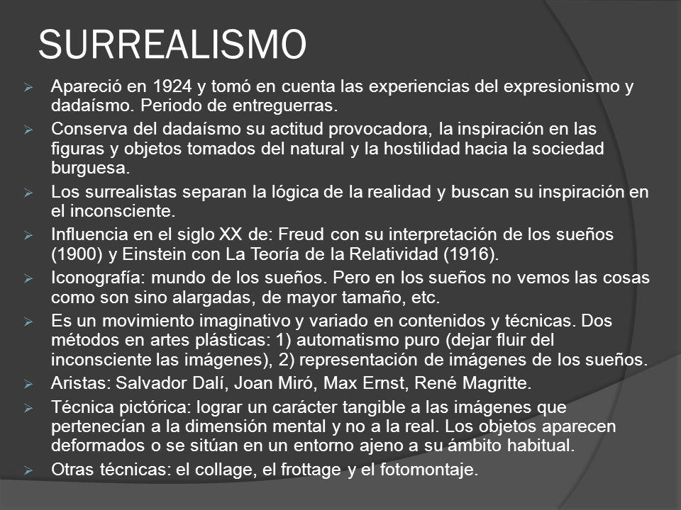 Salvador Dalí, La persistencia de la memoria, 1931.