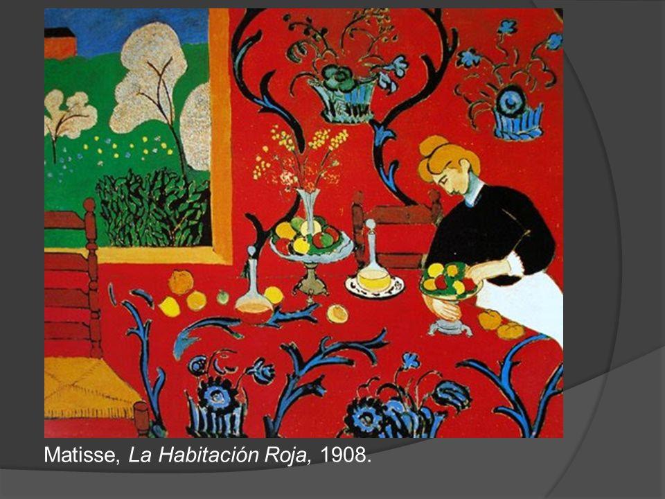 Matisse, La danza, 1910. Óleo sobre lienzo. 2,60 x 2,88 m. Museo del Ermitage, San Petersburgo.