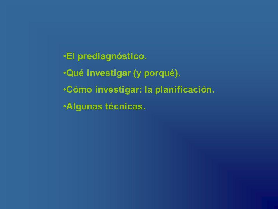 Listas de control Escalas de observación Instrumentos de recogida de información Se observa la presencia/ausencia de un determinado rasgo.