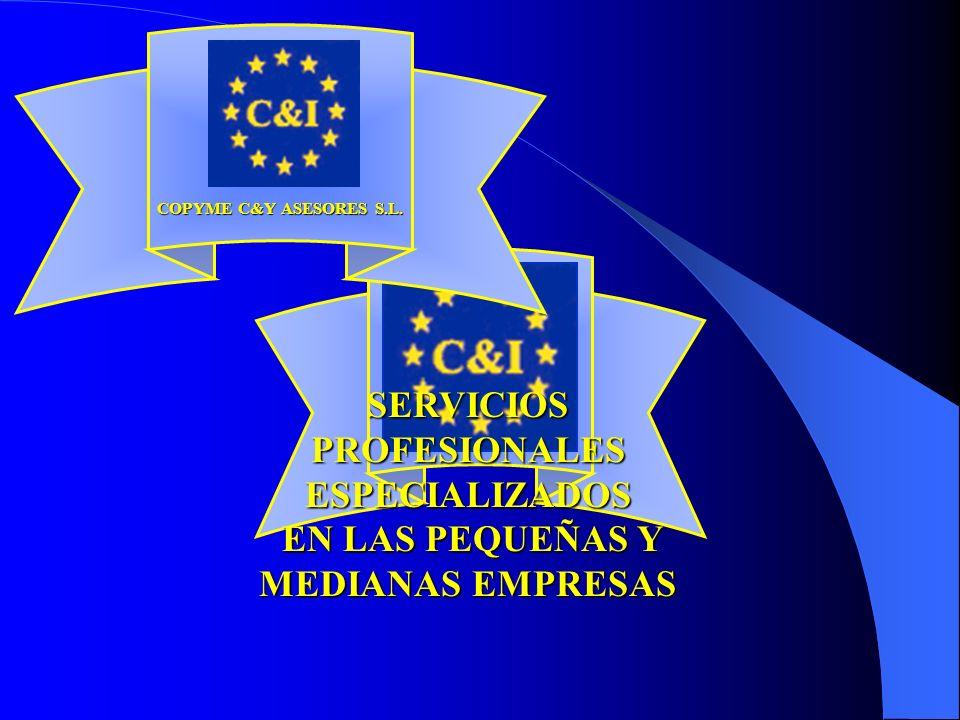 SERVICIOS PROFESIONALES ESPECIALIZADOS EN LAS PEQUEÑAS Y MEDIANAS EMPRESAS COPYME C&Y ASESORES S.L.