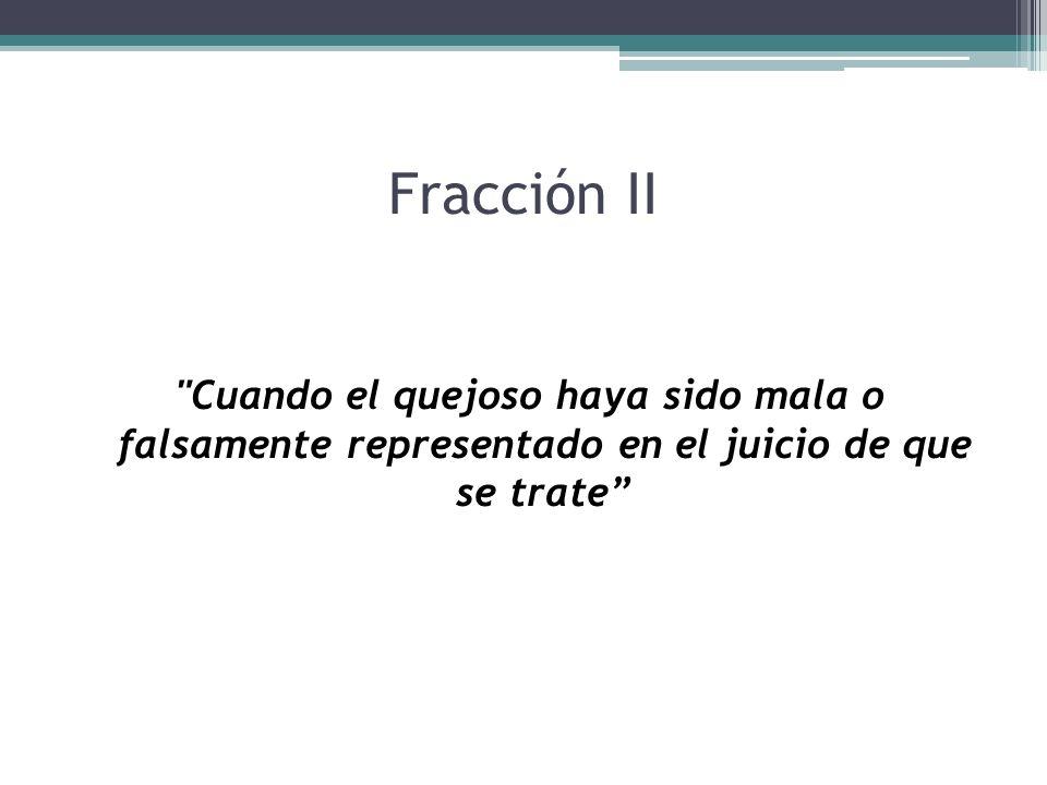 Fracción II