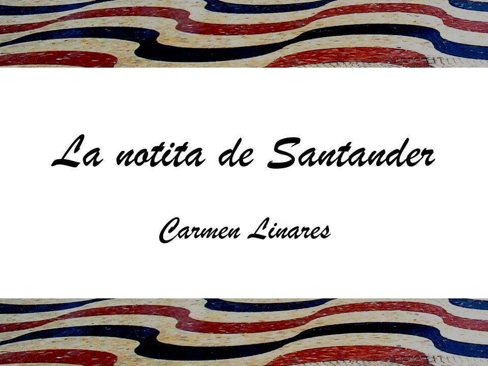 Caminando por las bonitas calles de Santander, una niña se encontró la puntita de un papel que sobresalía de la planta de una farola adosada a la baldosa desde hacía ya muchos años.