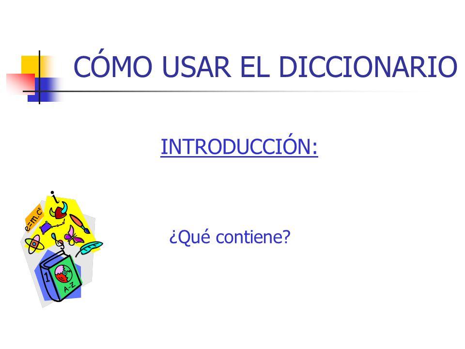 Encabezamiento del Diccionario Morfemas Ligados: ( yuyal ) Abreviaturas.