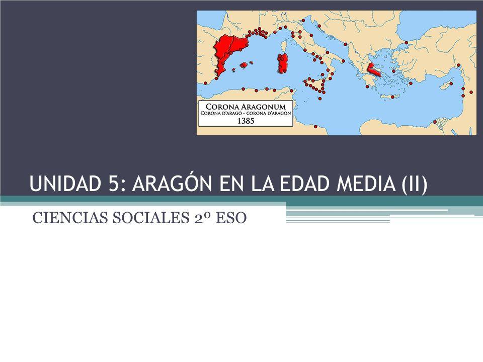 Índice: 1.Aragón tras la muerte de Alfonso I.2.Nace la Corona de Aragón.