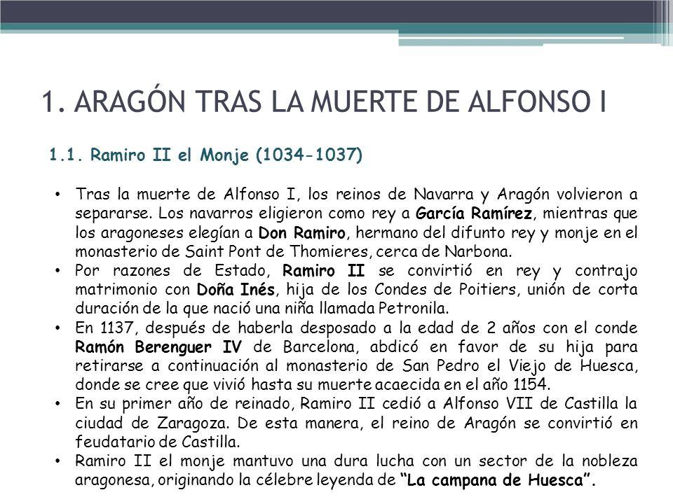 La leyenda de la campana de Huesca cuenta cómo Ramiro II el Monje, rey de Aragón, decapitó a doce nobles que se oponían a su voluntad.