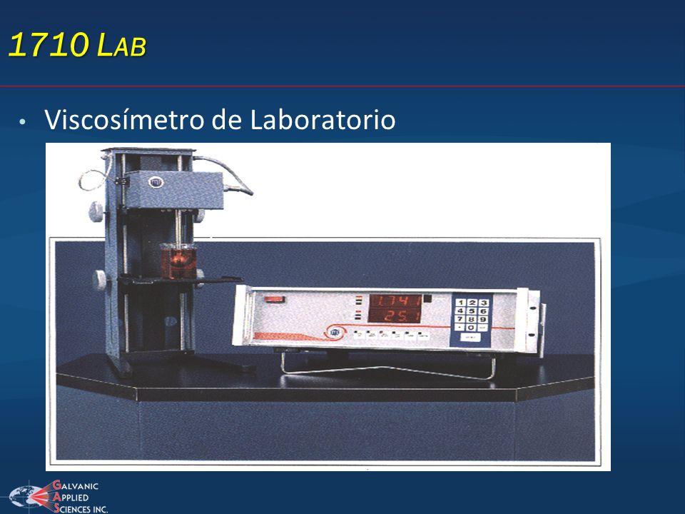 1710 L AB Viscosímetro de Laboratorio