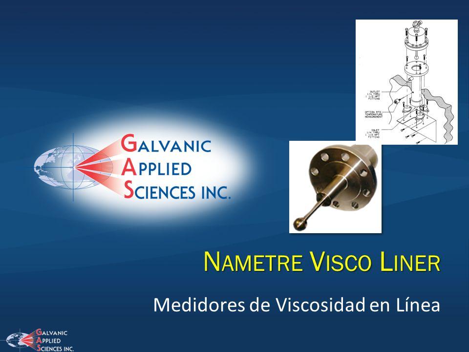 Medidores de Viscosidad en Línea N AMETRE V ISCO L INER