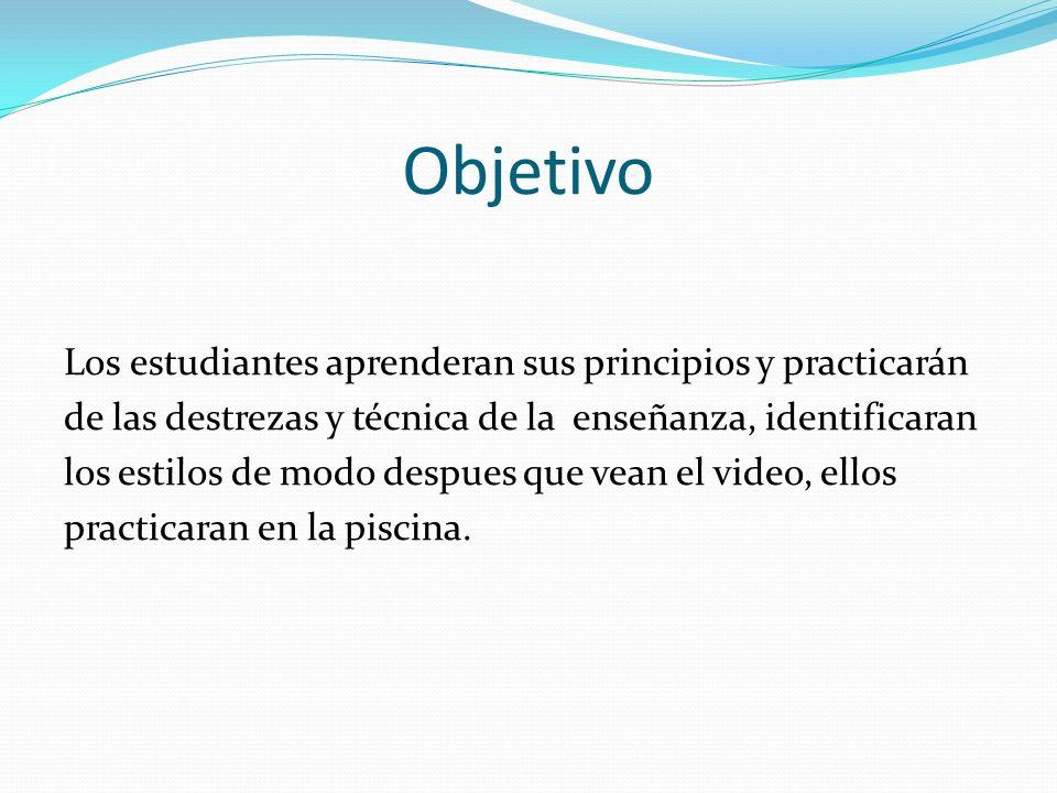 Practica #7¿Que es estilo libre intermedio.A) Practicar estilo aprendido en clase.
