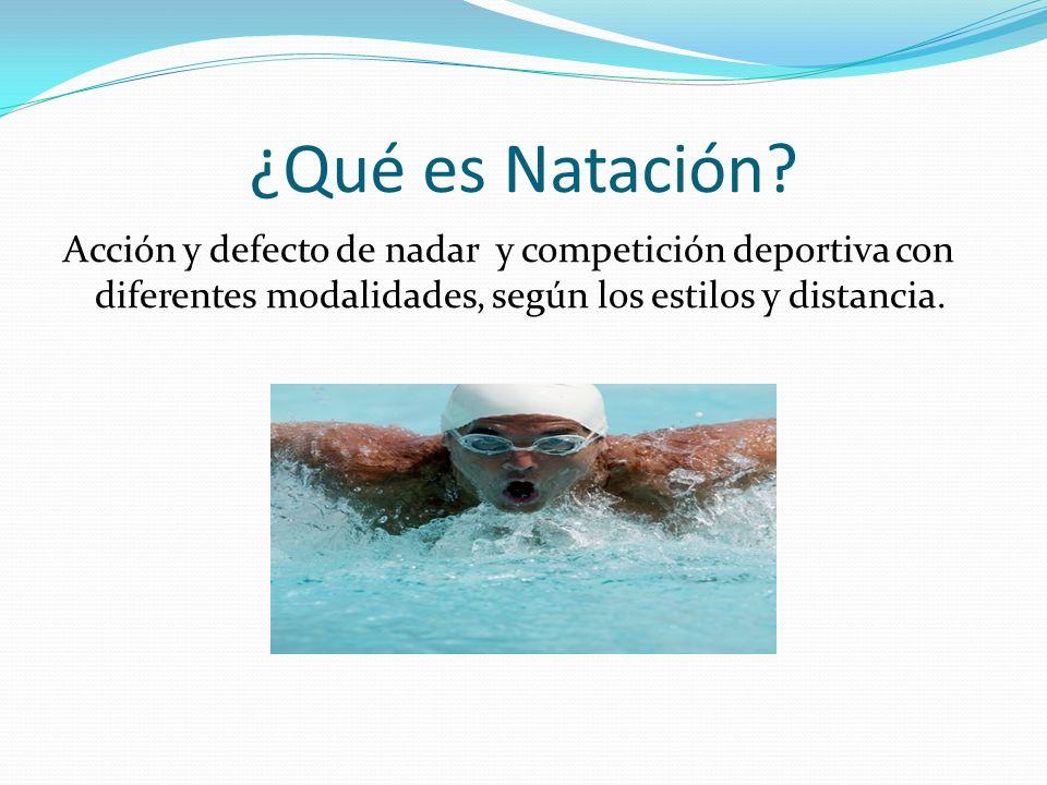 Seguridad La natación no es peligrosa en si mismo y basta con seguir las reglas sentido comun para cubrir la seguridad.
