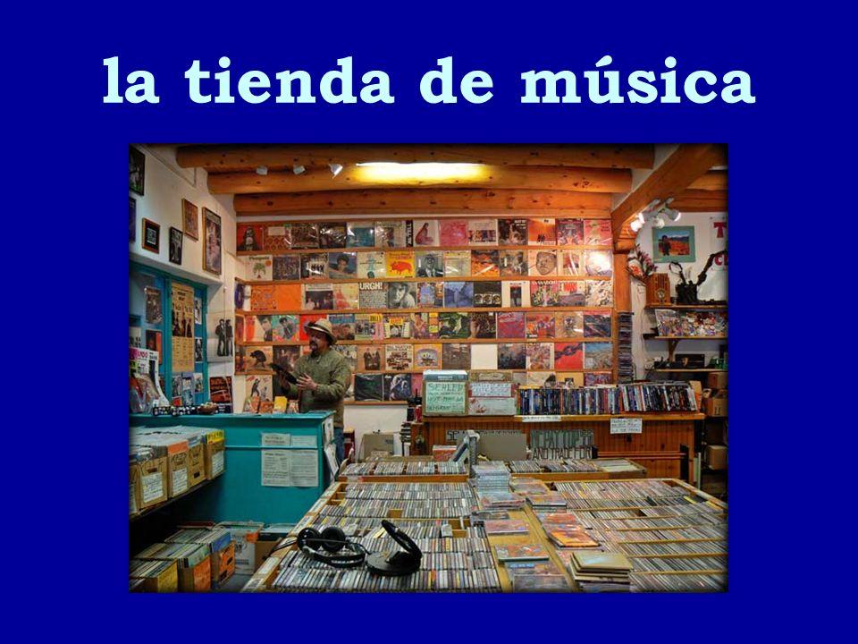 la tienda de música