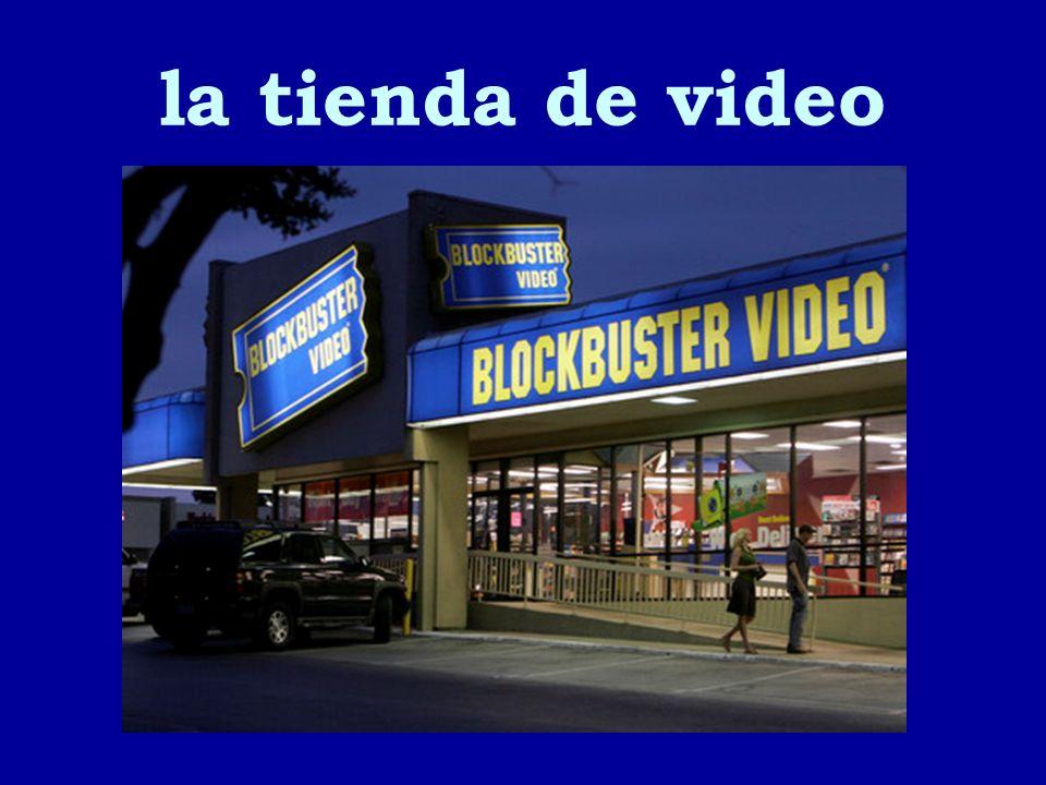 la tienda de video