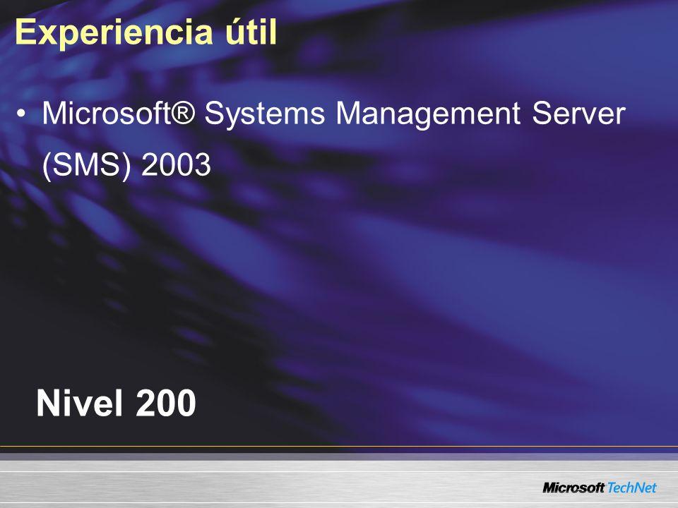 Agenda Resolución de problemas de instalación Resolución de problemas de comunicación Resolución de problemas de seguridad con el Punto de administración Resolución de problemas de acceso al Punto de administración de Microsoft SQL Server Problemas varios