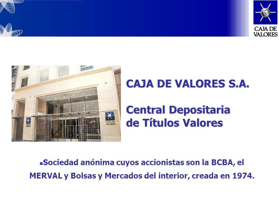 CAJA DE VALORES S.A.