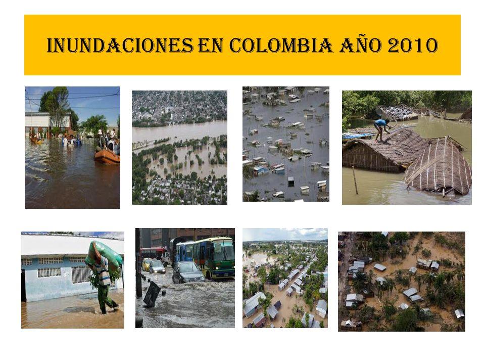 Inundaciones en Colombia año 2010