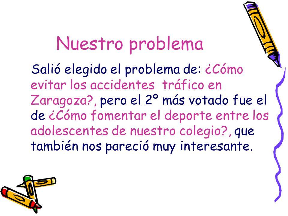 Parámetros ¿Cómo evitar los accidentes de tráfico en Zaragoza.