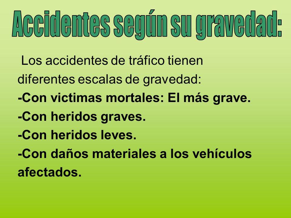 Causas Hay diferentes causas que crean los accidentes de tráfico …