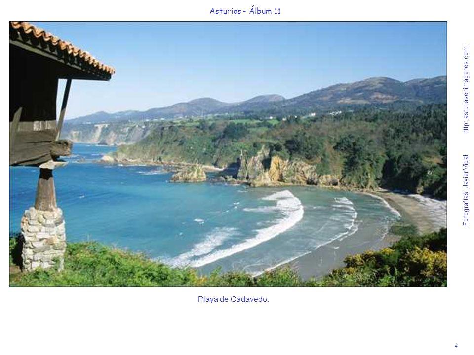4 Asturias - Álbum 11 Fotografías: Javier Vidal http: asturiasenimagenes.com Playa de Cadavedo.