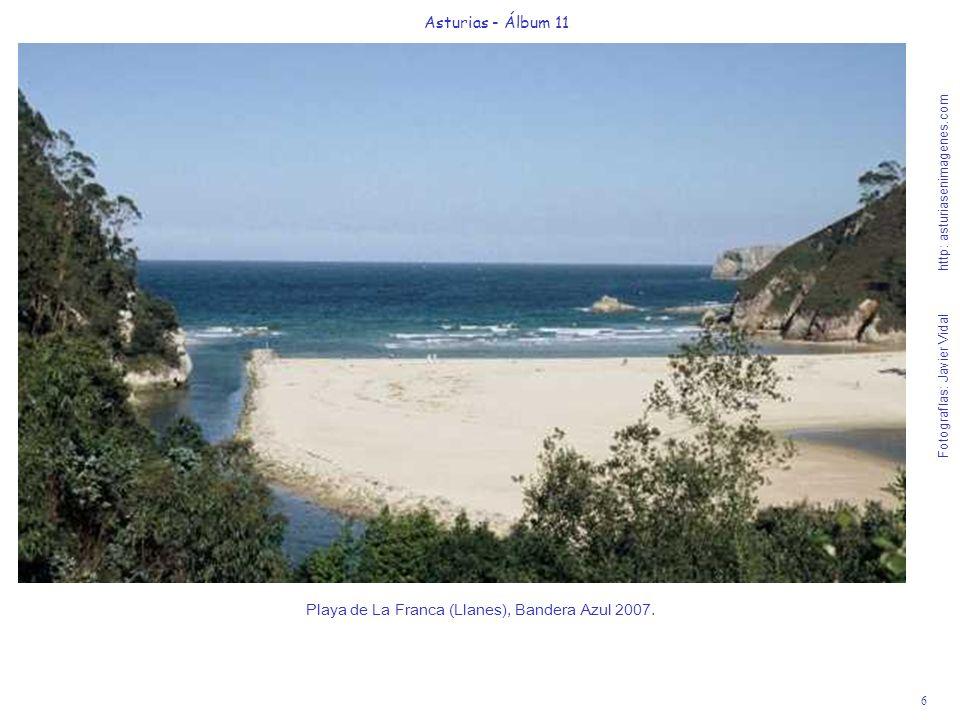 7 Asturias - Álbum 11 Fotografías: Javier Vidal http: asturiasenimagenes.com Playa de Rodiles (Villaviciosa).