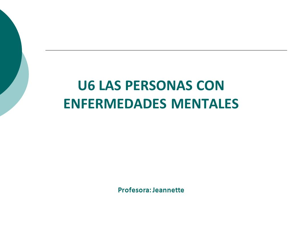 TRABAJAREMOS * Qué son las enfermedades mentales (E.M.) * Cuáles son la E.M.