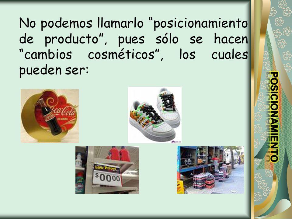 HUECOS EN EL PRECIO MAS BAJO: El hueco del precio mas bajo es a menudo una buena estrategia en el caso de productos nuevos.