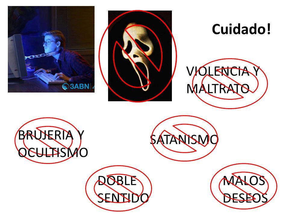 SATANISMO DOBLE SENTIDO BRUJERIA Y OCULTISMO MALOS DESEOS VIOLENCIA Y MALTRATO Cuidado!