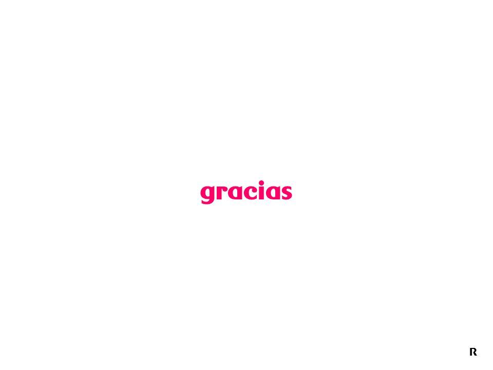 R gracias