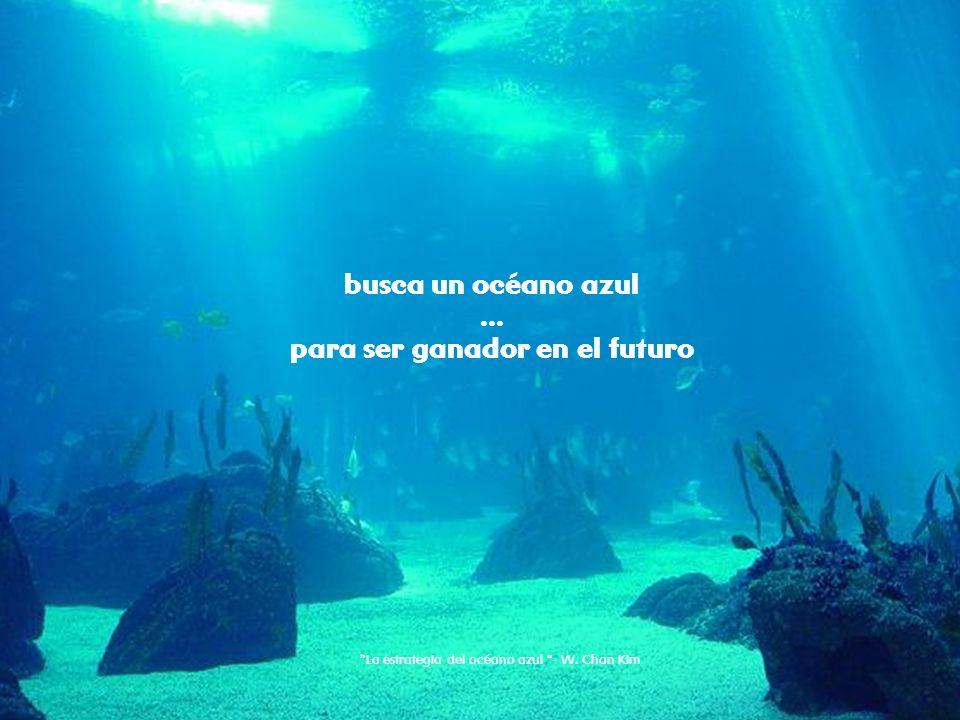 1_crear valor con la innovación R busca un océano azul... para ser ganador en el futuro La estrategia del océano azul - W. Chan Kim