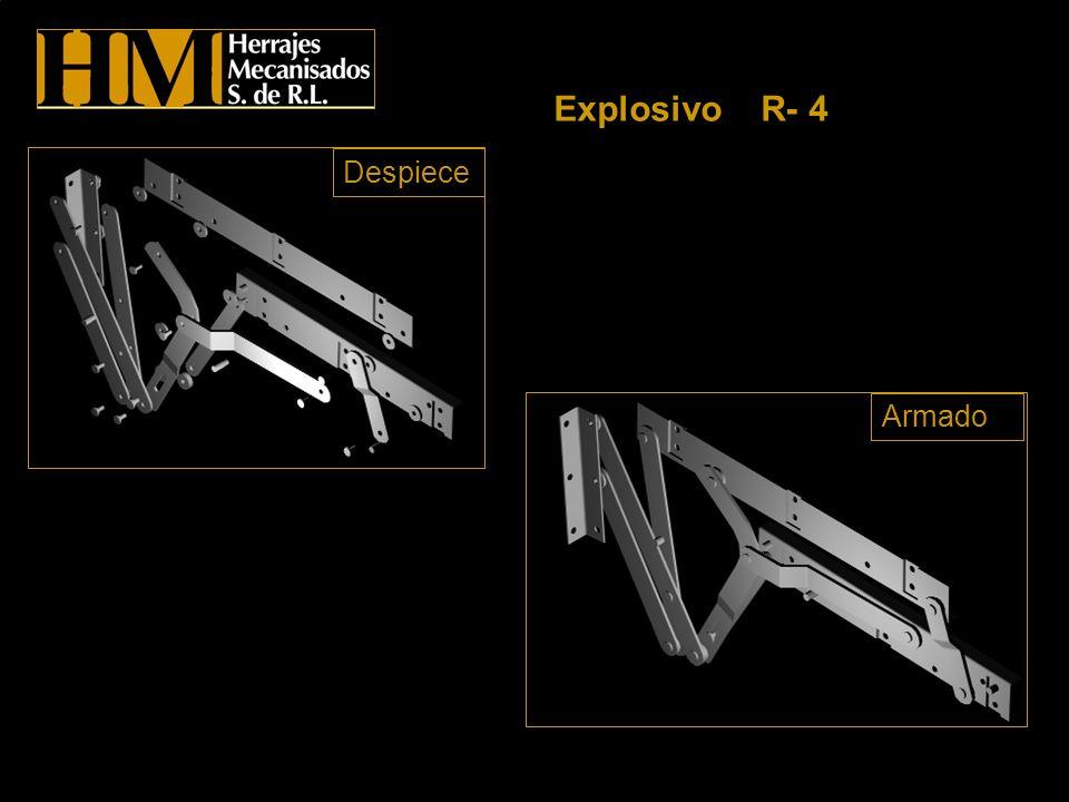 Explosivo R- 4 Despiece Armado
