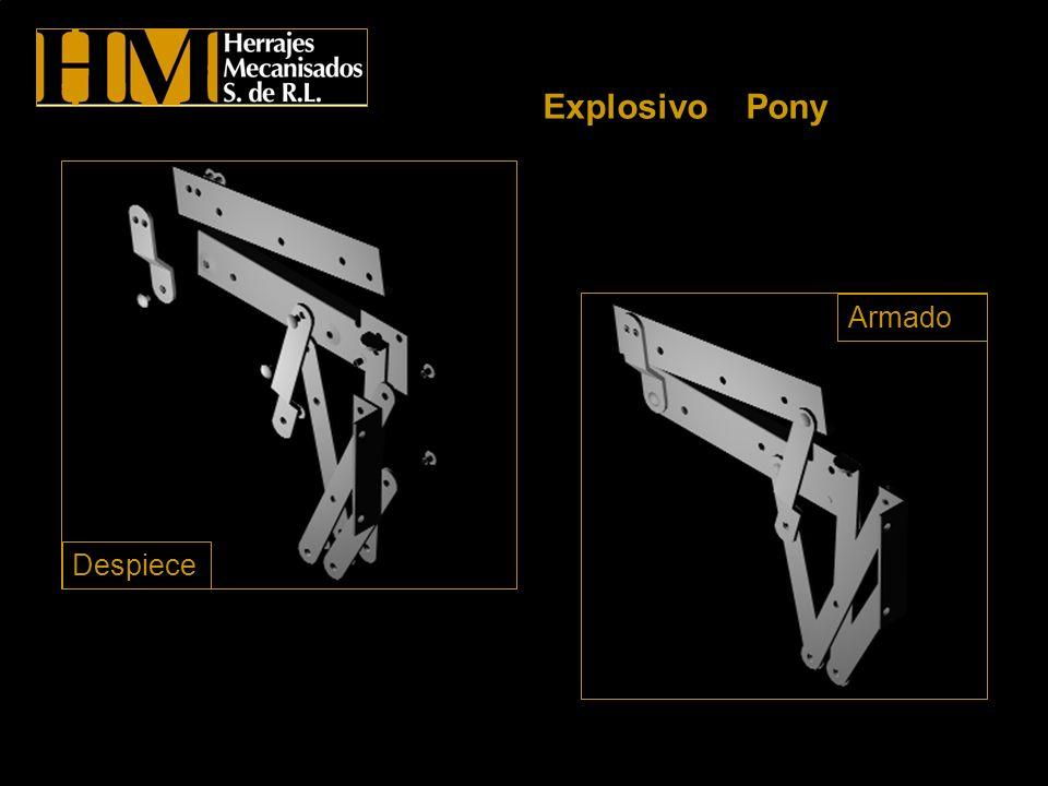 Explosivo Pony Despiece Armado