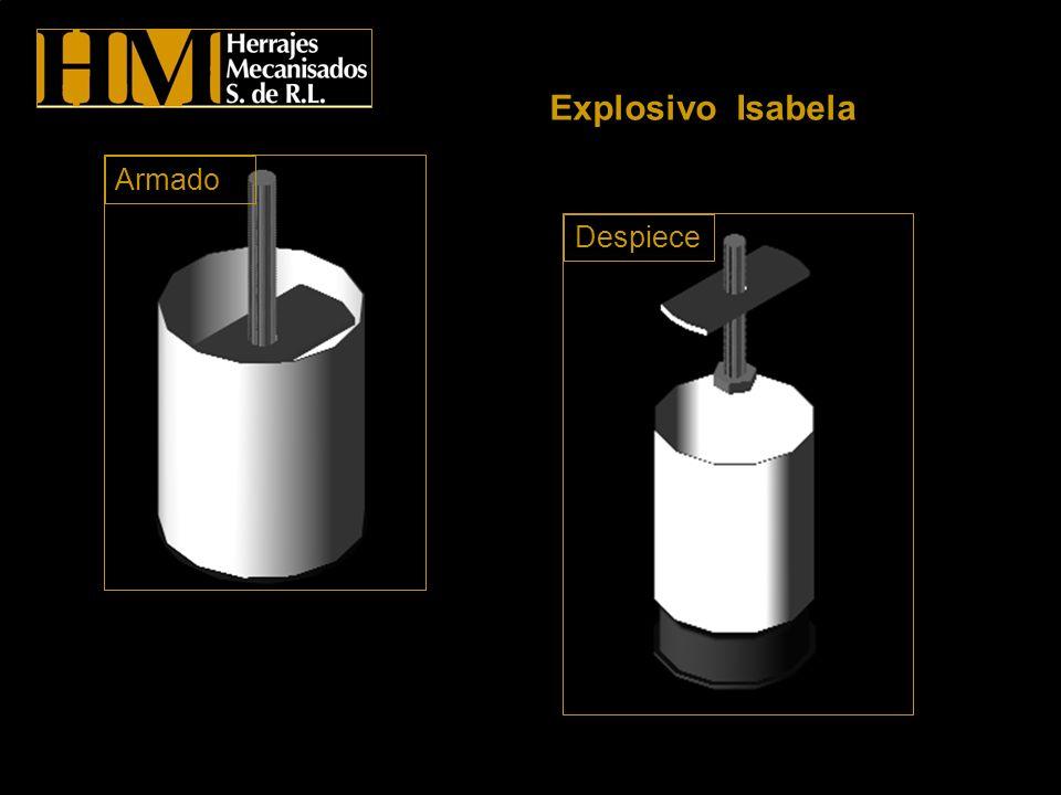 Explosivo Isabela Despiece Armado