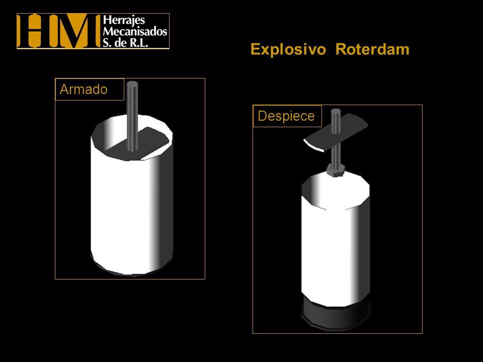 Explosivo Roterdam Despiece Armado