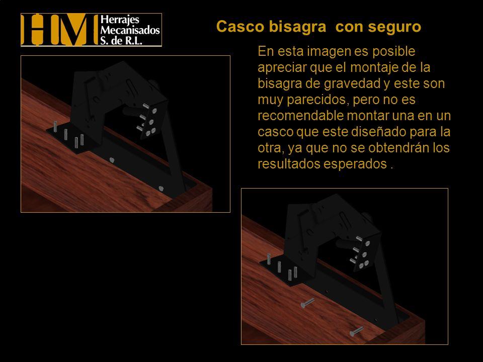 Al remover el asiento se observa el modo de sujeción completo, y como las pijas deben ir al casco.