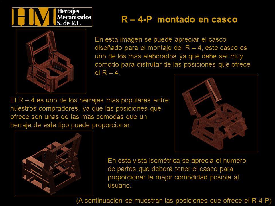 Las imágenes que se presentan a continuación son los despieces de los herrajes y de las patas fabricadas en Herrajes Mecanisados S.